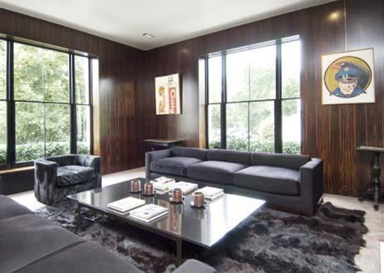 Tom Ford Sells London House Sick Living Room Excluding