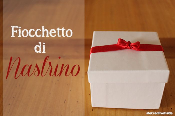 diy tutorial fiocchetto di nastrino me creative inside