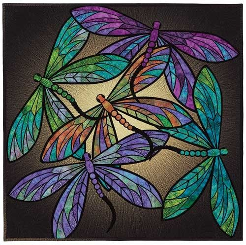 Dance Of The Dragonflies Quilt Pattern Keepsake Quilting