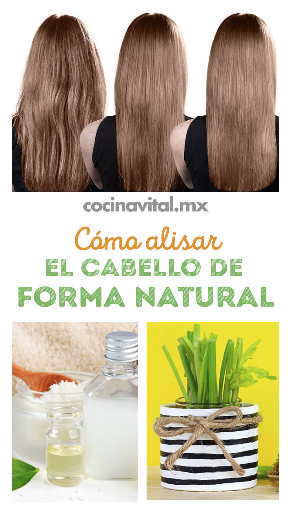 Cómo Alisar El Cabello De Forma Natural Y Permanente Recetas Alisado De Cabello Alisar Cabello Naturalmente Cabello Liso Natural