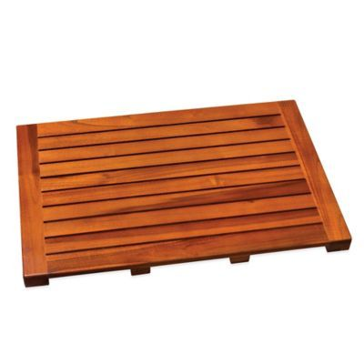 Teak Tub Mat Teak Bath Teak Bathmat Tub Mat