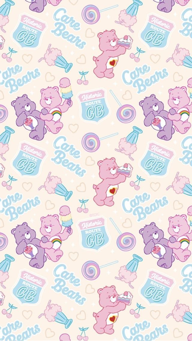 Aesthetic Care Bear Phone Cases