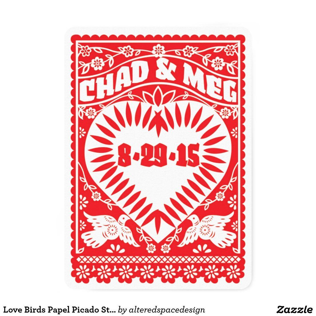 Love Birds Papel Picado Style Fan | Pinterest | Papel picado and ...