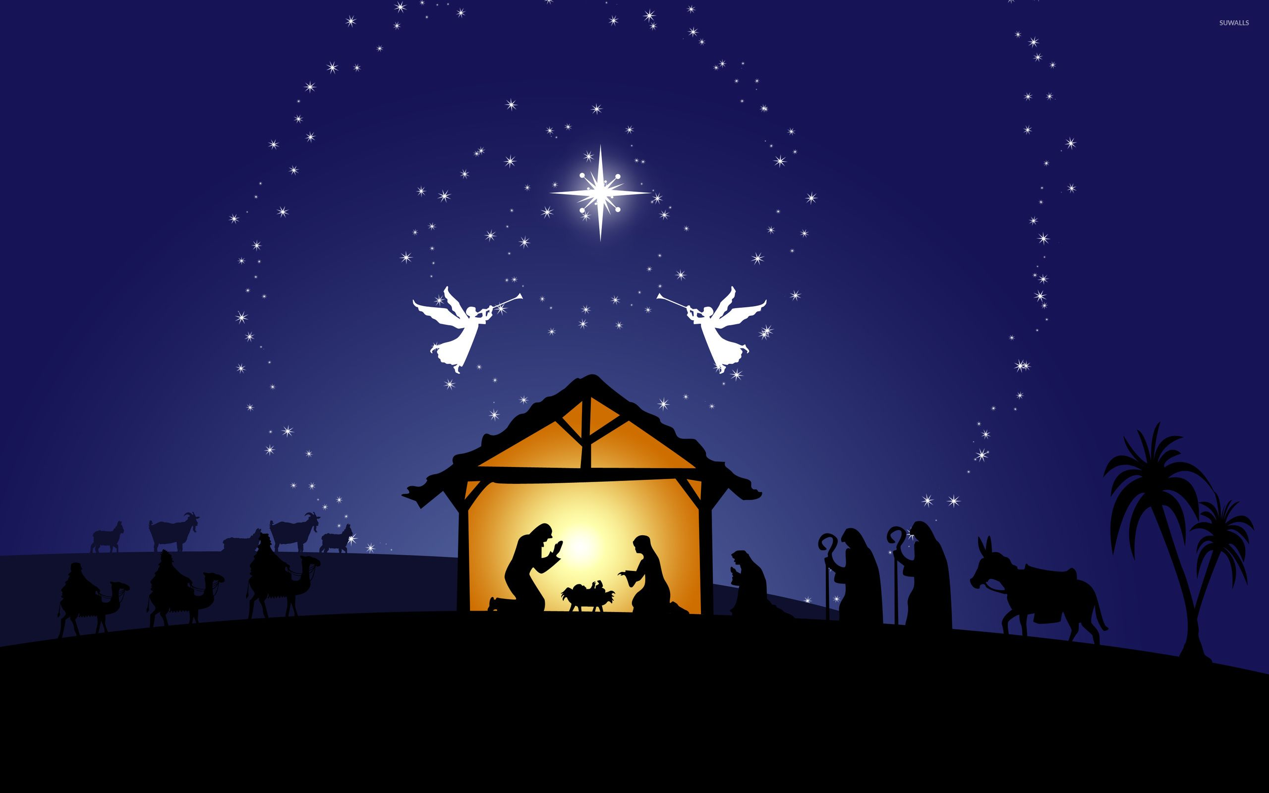 Christmas Nativity Desktop