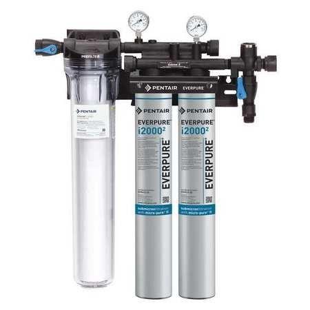 Everpure Black And Silver Ice Machine Filter System Water Filtration System Water Filtration Ice Machine