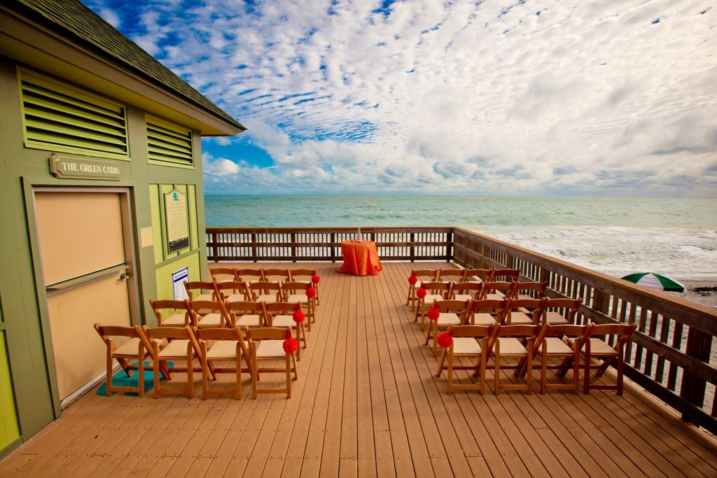 A Breathtaking Seaside View From Ceremony At Disney S Vero Beach Resort