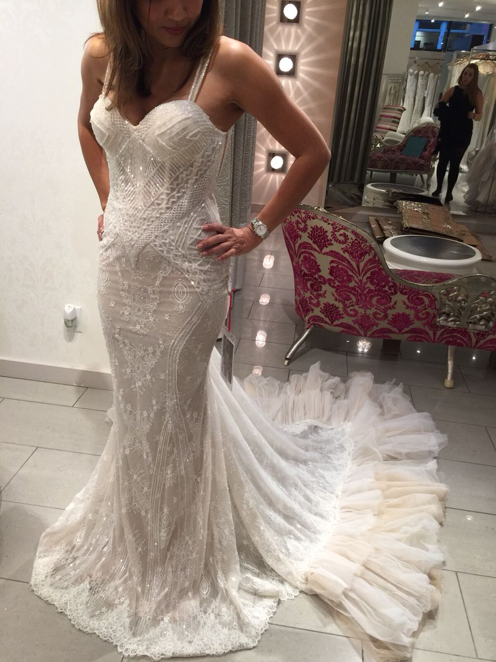 From the BERTA trunk show in Vancouver at Blush Bridal ❤ | BERTA ...