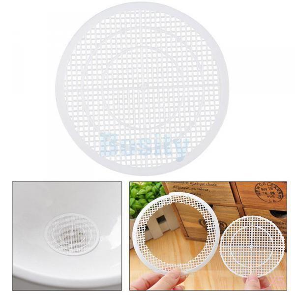5 X Bathtub Shower Drain Hair Catcher Stopper Remover Sink Strainer Sewer  Filter