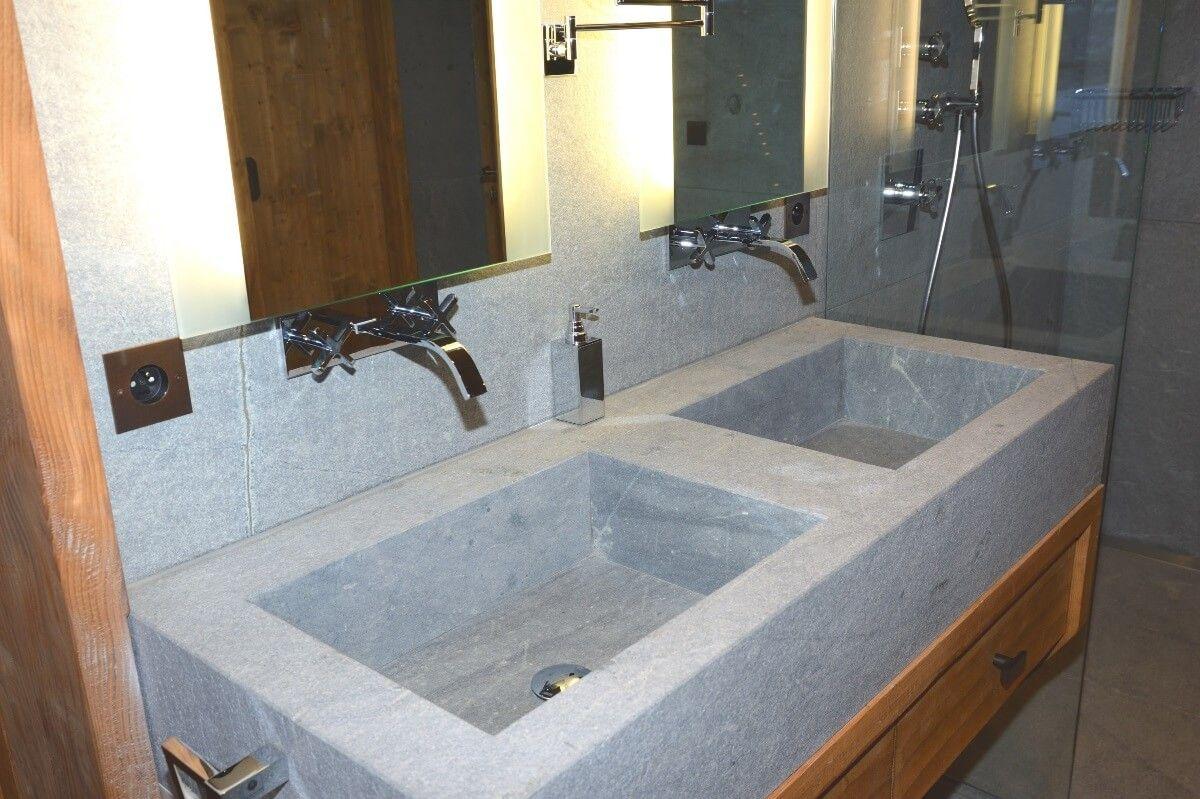 Plan vasque sur mesure Albiana  Granit, Salle de bain, Nettoyage
