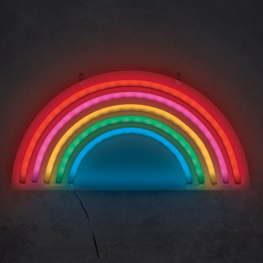 Rainbow 15 Neon Marquee Sign Led Lights
