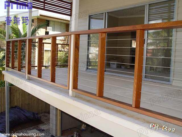 Lovely Balcony Cable Railing