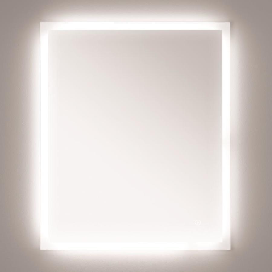 Style Selections 30 In Led Lit Mirror Rectangular Frameless