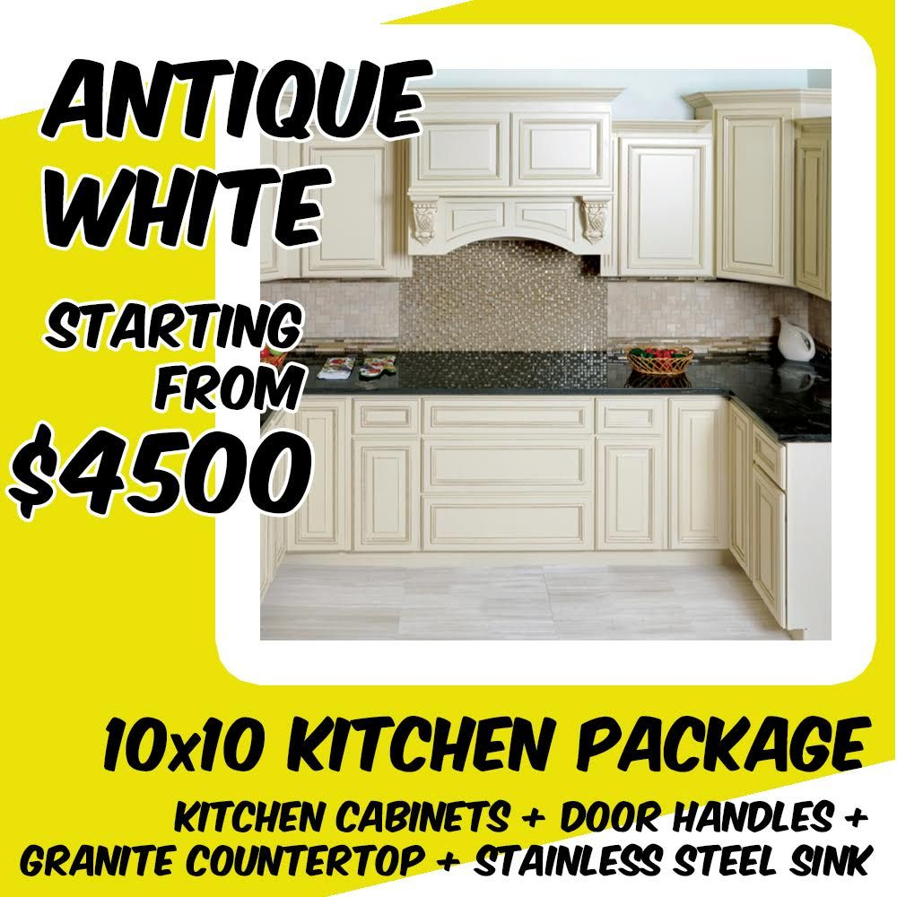 Economy Package For Antique White 10x10 Kitchen Package Starting From 4500 Kitchen Cabinets D Kitchen Cabinets Rta Kitchen Cabinets Online Kitchen Cabinets