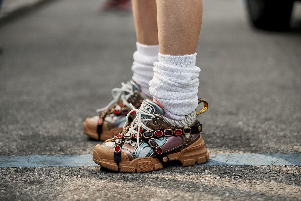 bd5ec853427aa Clonados y pillados  tenemos clon de las zapatillas más ugly de Gucci  shoes