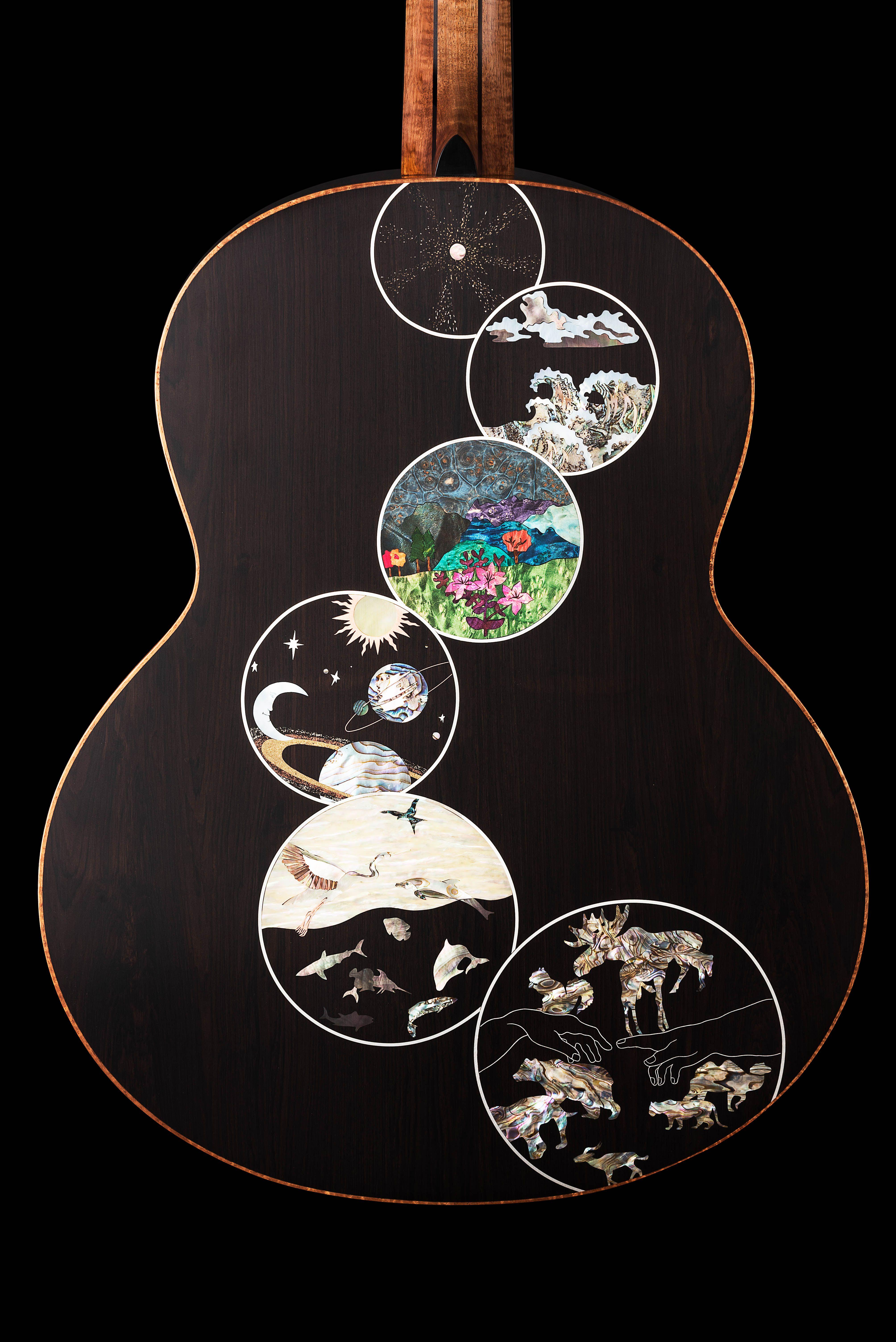 Genesis 20000 Lowden Guitars Handmade And Hand Built Acoustic Guitar Range From Downpatrick Ireland Guitar Inlay Genesis Inlay