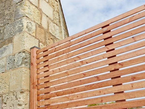 de panneau bois extérieur pour décorer ou aménager votre jardin - lasure pour bois exterieur