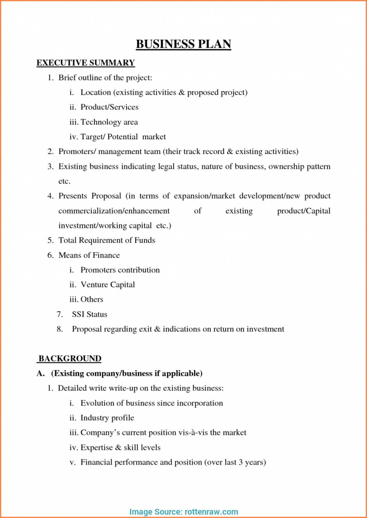 Valid Free Business Plan Template For Small Business Uk