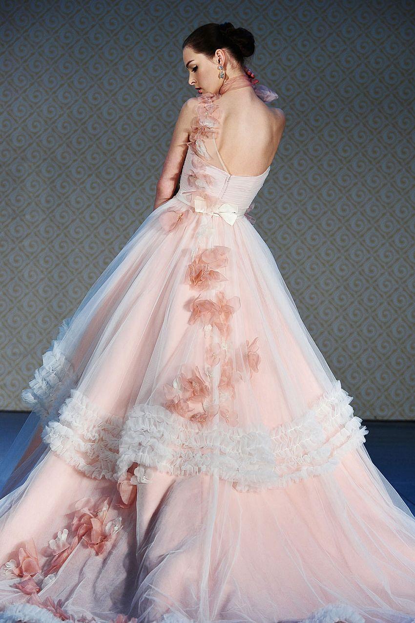 Fleur by Saison Blanche Wedding Dress. I