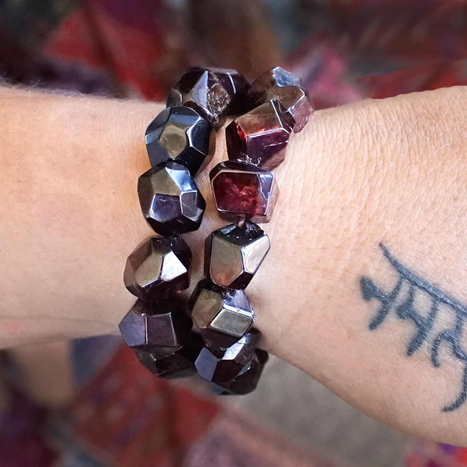 Wait – just wait until you see these garnet bracelets! Made from the highest quality gemstones on a stretchy cuff, every goddess should have one.