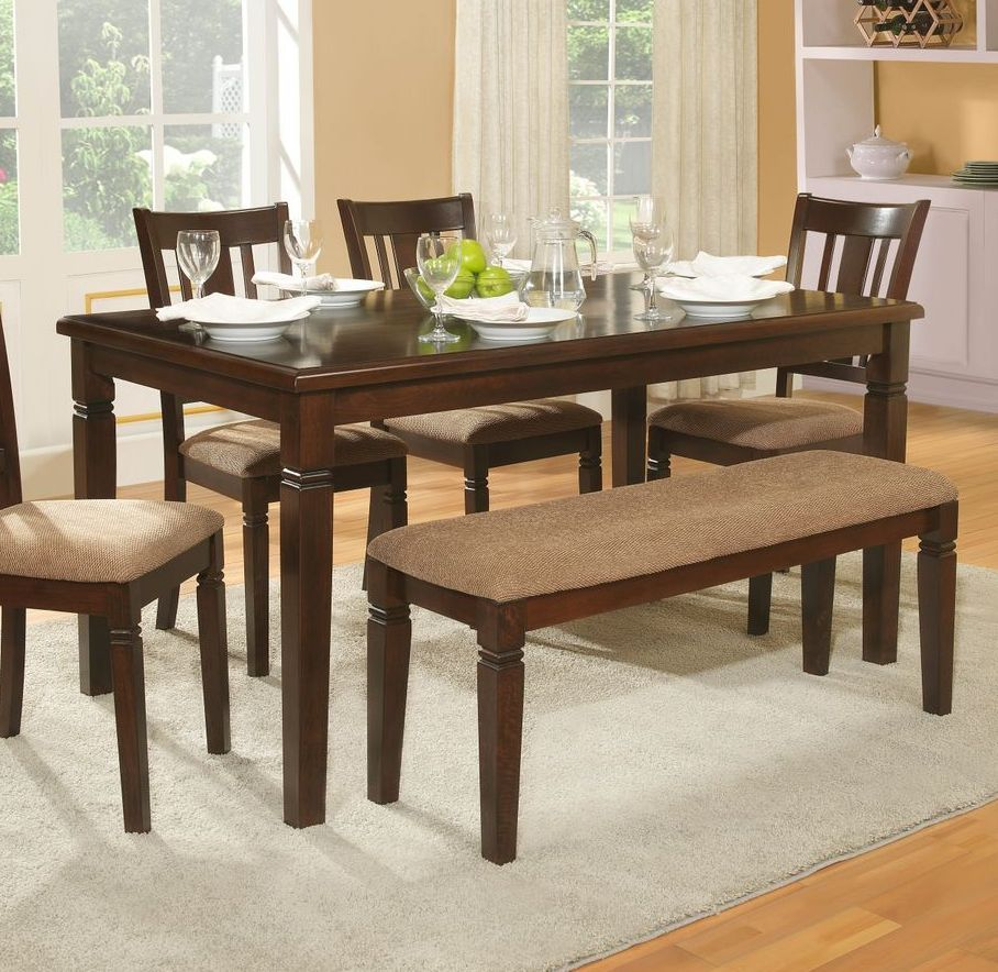 bust of the small rectangular dining table that is perfect for your