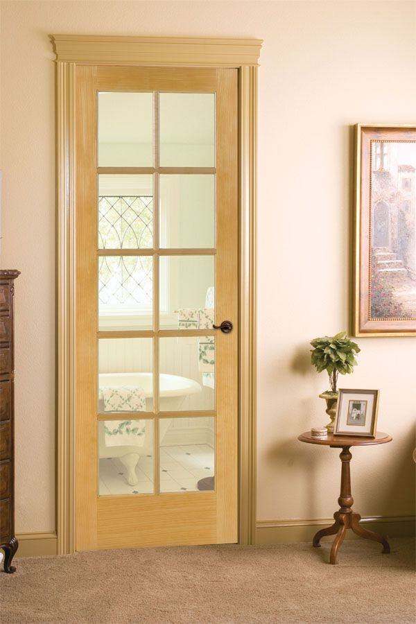 Ponderosa Pine 10 Lite French Door 625 French Doors Doors Home Decor