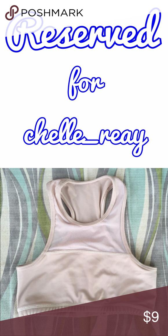 ***RESERVED listing for chelle_reay Nude sports-bra (bikini top) Swim Bikinis