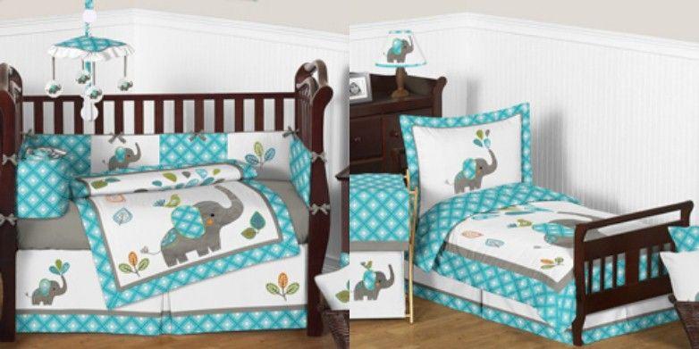 Mod Elephant Crib Bedding Collection Elephant Crib Bedding Crib