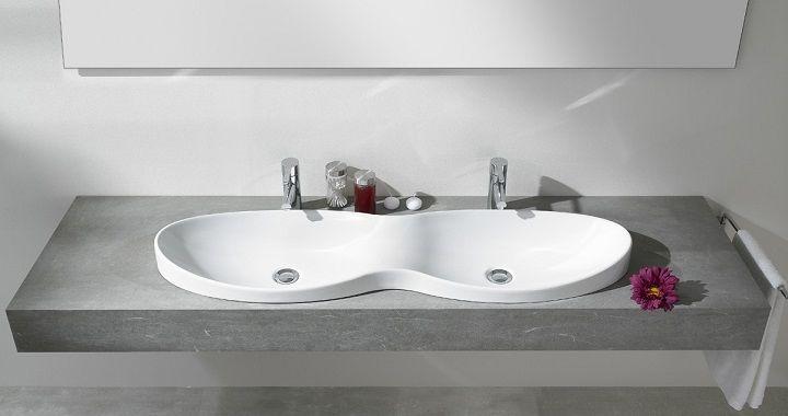 Lavabos Dobles Para El Cuarto De Bano Con Imagenes Lavamanos Modernos Lavabo Doble Banos