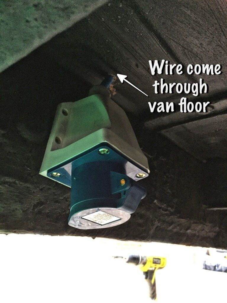 Installing The 12v Electrics In My Van Conversion