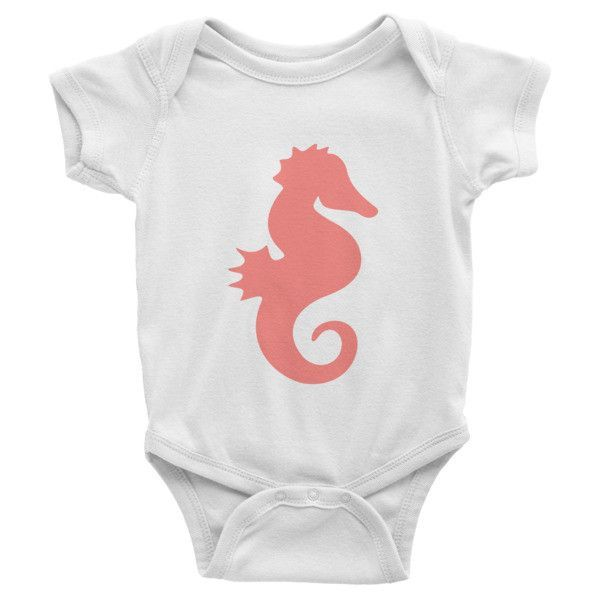 Seahorse Infant short sleeve one-piece