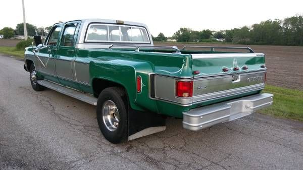 Bangshift Com 1980 Chevy 3 3 Dually With 30 000 Miles For Sale On