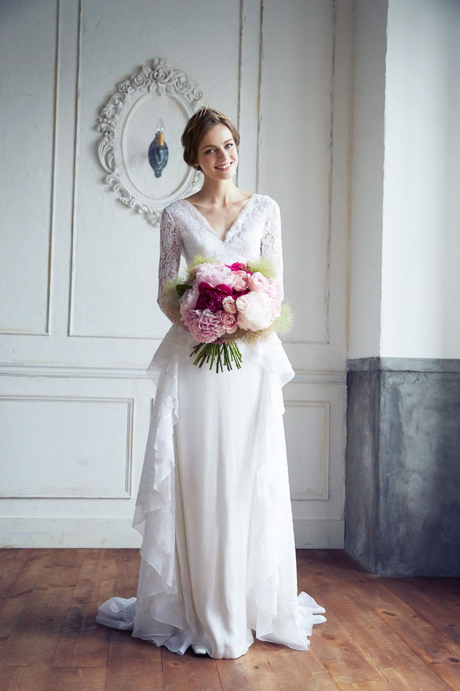 DRESS:TEMPERLEY LONDON Posey] weddingdress weddingday white princess ...