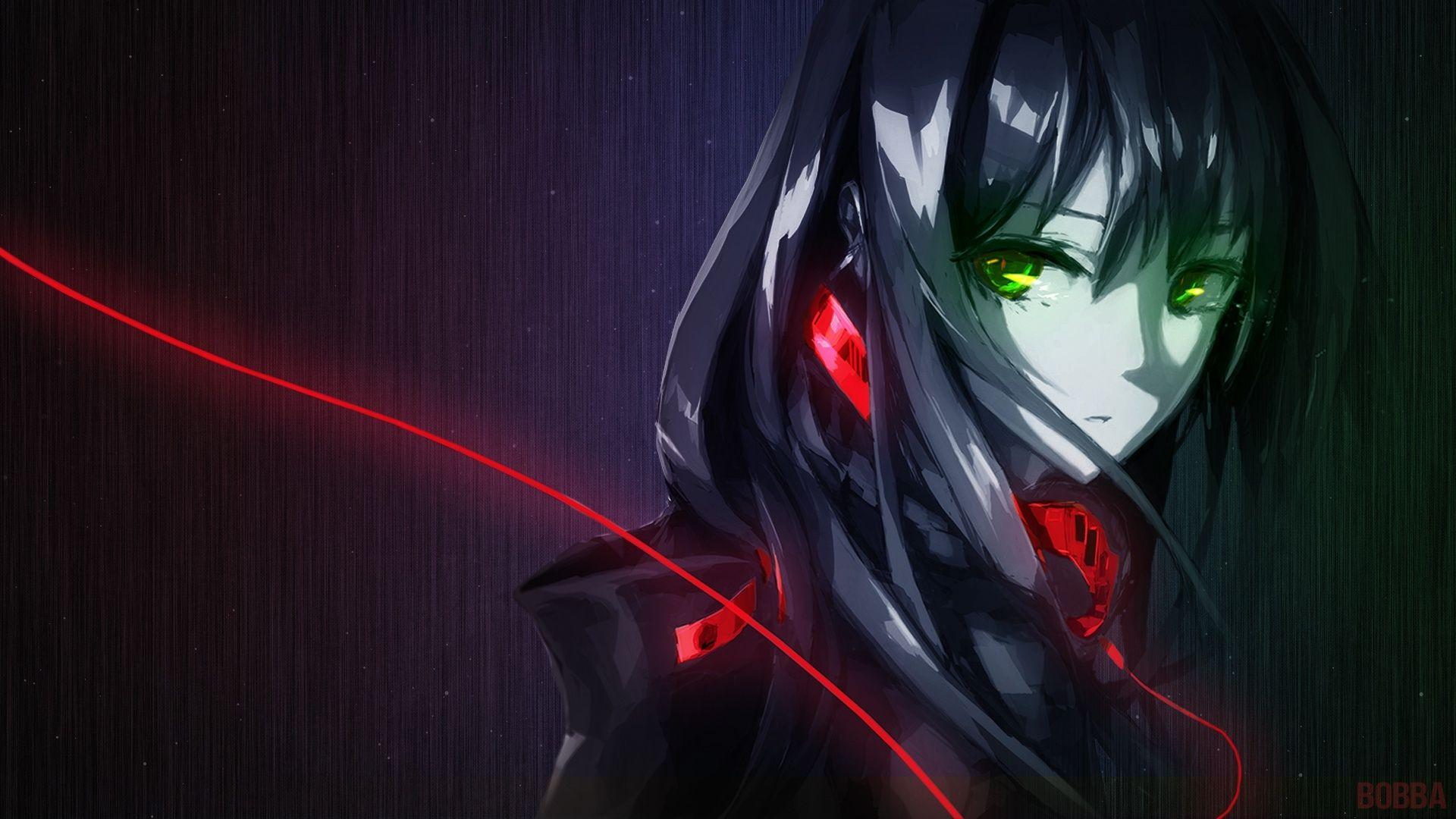 Anime The Idolm Ster Cinderella Girls Black Hair Green Eyes Face