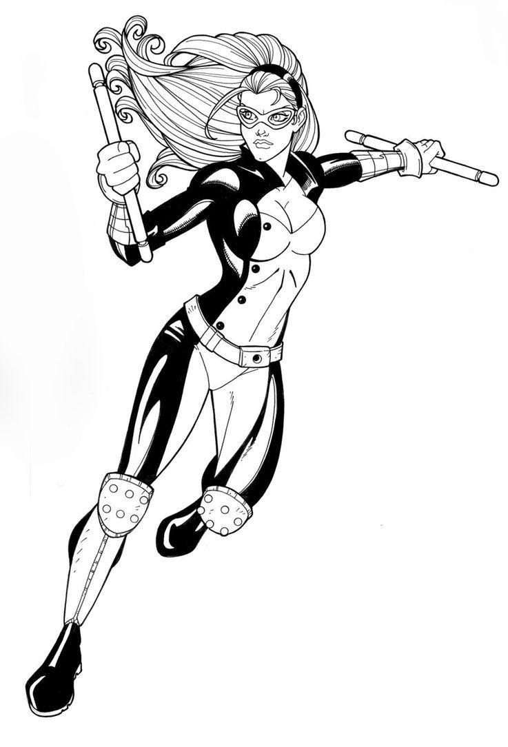 Mockingbird New Avengers By Jamiefayx On Deviantart New Avengers Avengers Coloring Pages Avengers