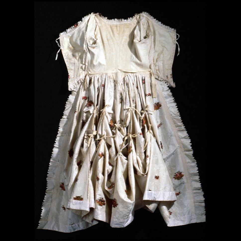 Robe A La Polonaise: Inside View, Robe à La Polonaise, England, C. 1770
