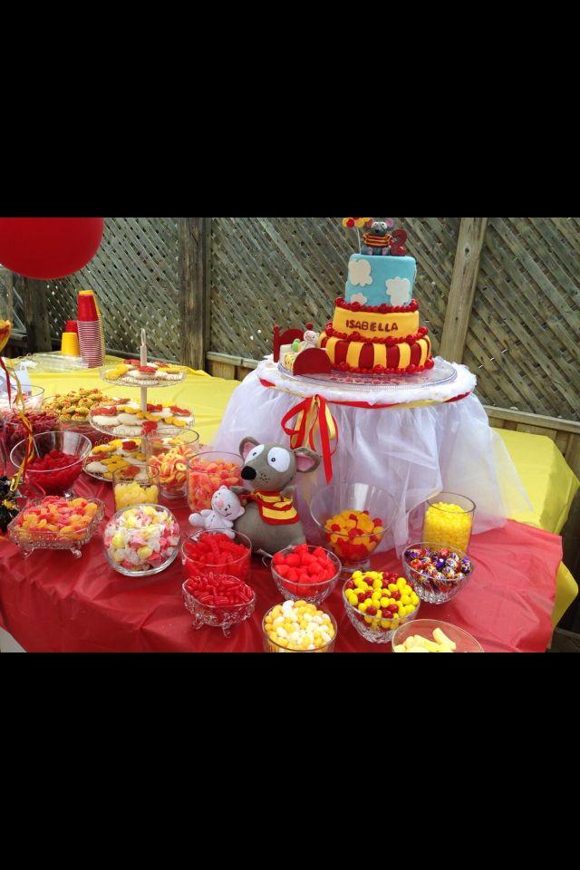 Candy bar | Toopy & Binoo Party ! | Pinterest