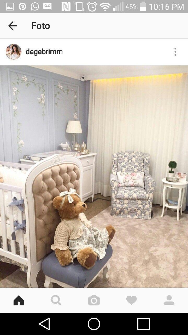 Pin de Julie Dennison en BABY~CRIBS, BASSINETS, ROOMS | Pinterest
