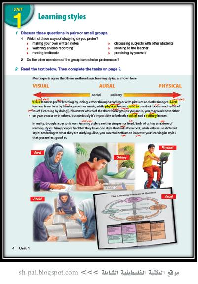 حل كتاب english world للصف الثامن