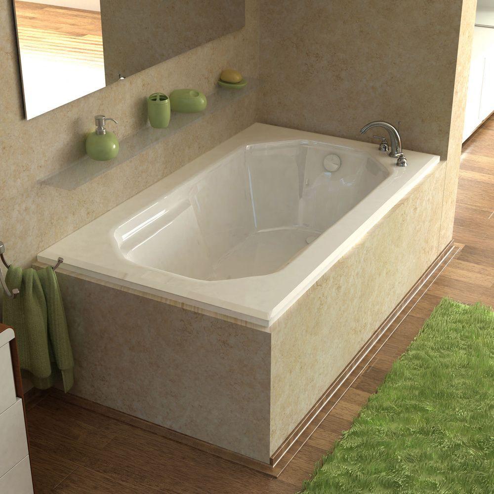 Mountain Home Elysian 36x60-inch Acrylic Soaking Drop-in Bathtub ...