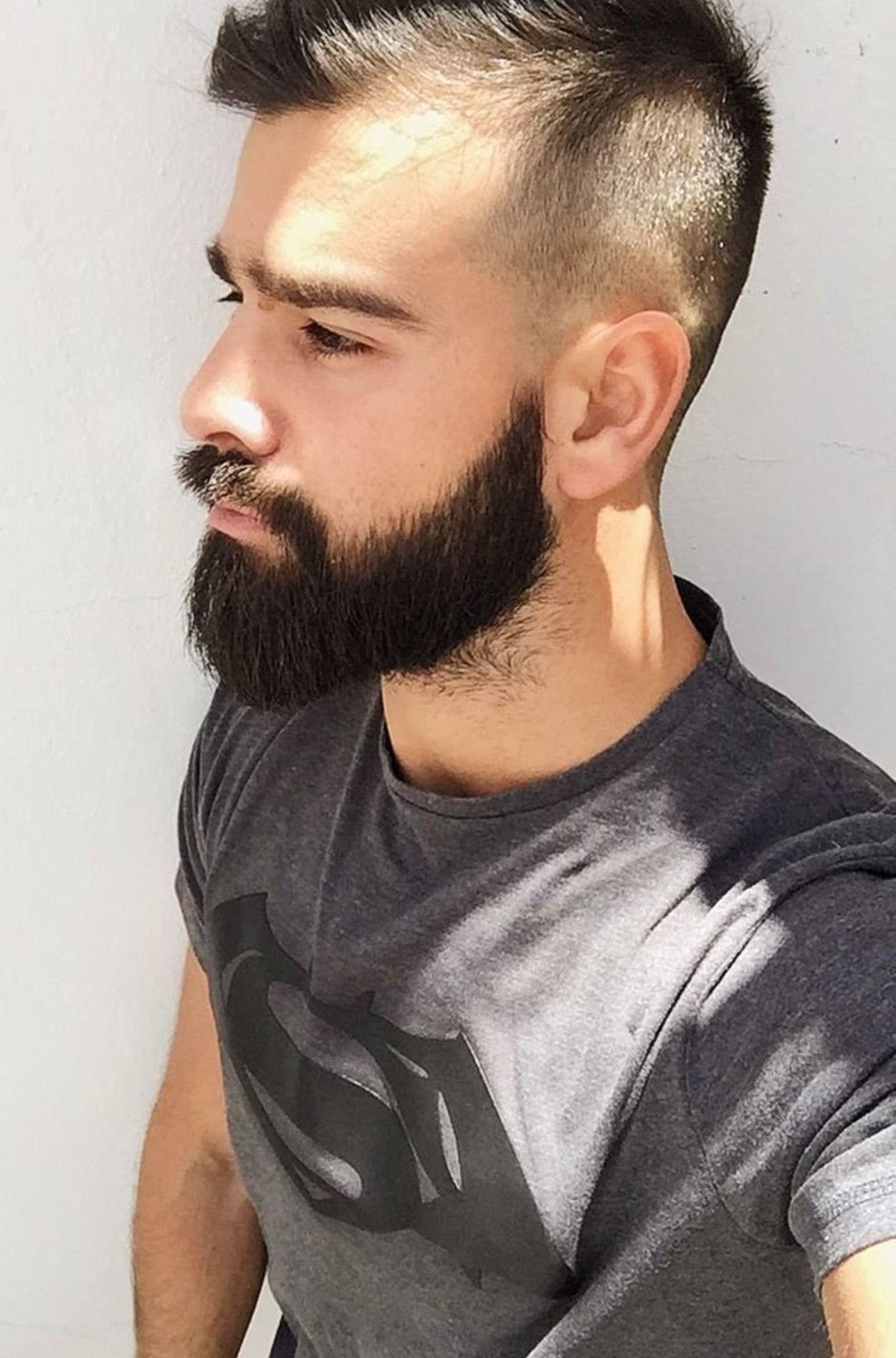 Bad mens haircuts fetish barber  beards and bad asses  pinterest