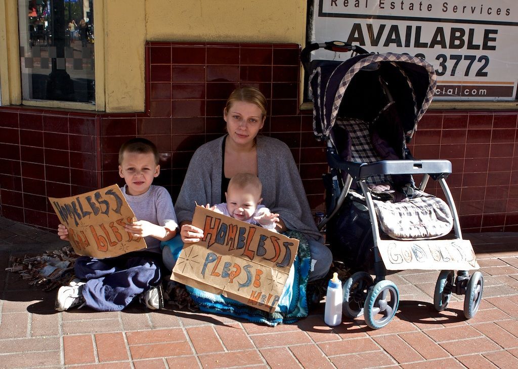 Image result for homeless middle class