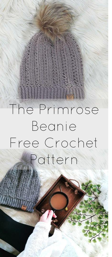 The Primrose Beanie | Crochet | Pinterest | Bufandas, Gorras and ...