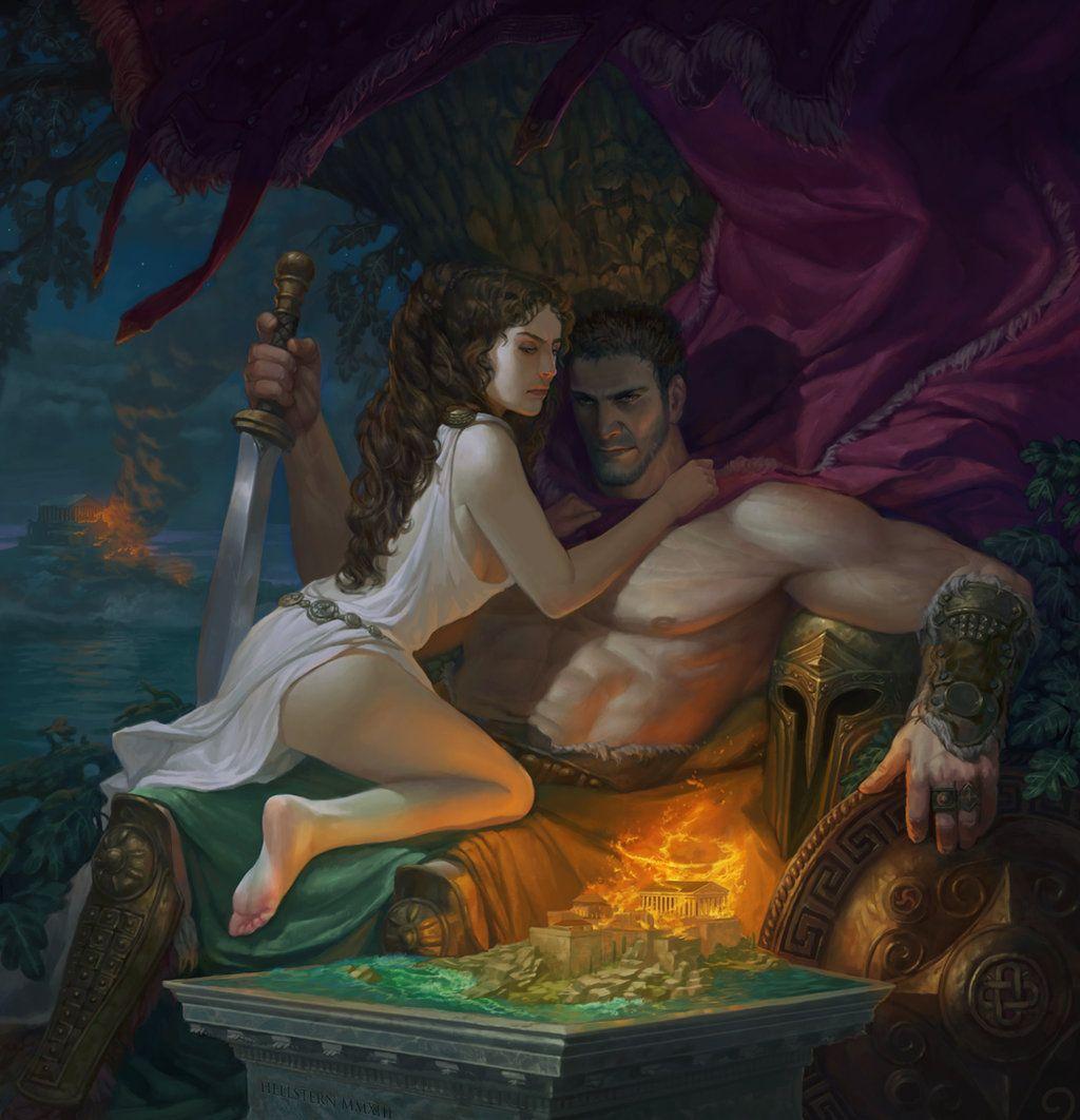 Mars And Venus By Hellstern On Deviantart Greek Gods