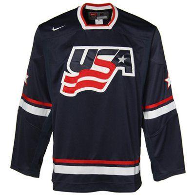 Team Usa Hockey Jersey Navy Size S Usa Hockey Hockey Jersey Usa Hockey Jersey
