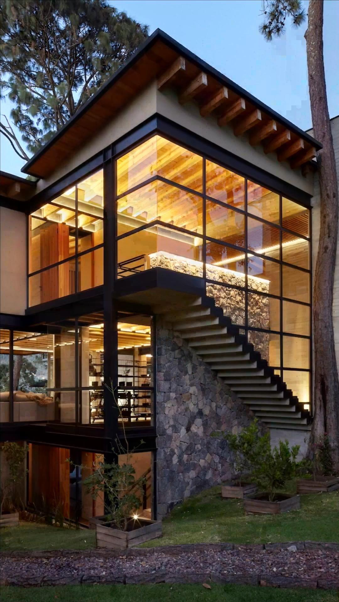 Lake View House (Casa Vista Del Lago) in Valle De Bravo, Mexico by D+S Arquitectos