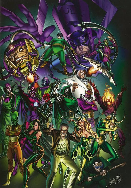 The Greatest Marvel Villains Of All Time Drawing Ideas