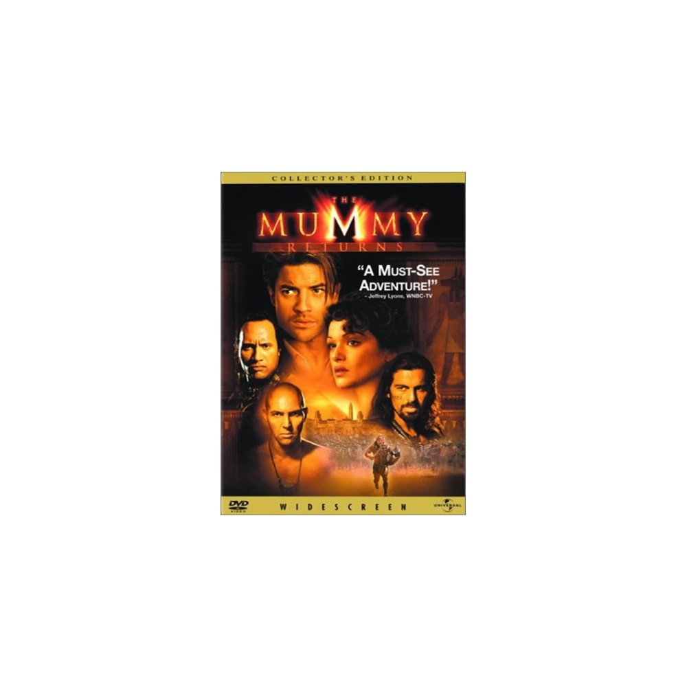 The Mummy Returns Blu Ray A Mumia Filme Cartazes De Cinema