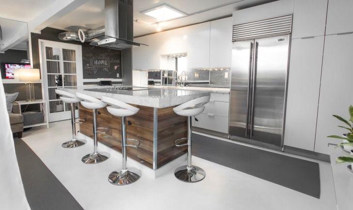 perfekte moderne barhocker f r die k che der insel. Black Bedroom Furniture Sets. Home Design Ideas