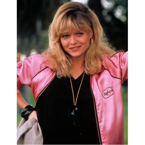 Grease 2 Michelle Pfeiffer Stephanie Zinone Pink Jacket