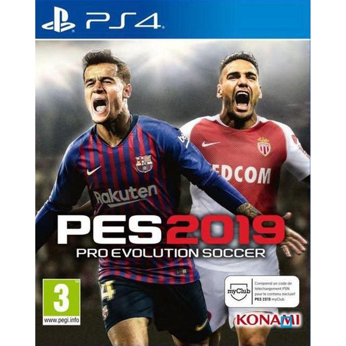 Pro Evolution Soccer 2019 Ps4 Taille Taille Unique